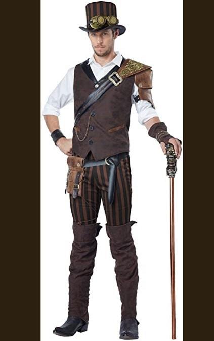 Adult Steampunk Adventurer Costume