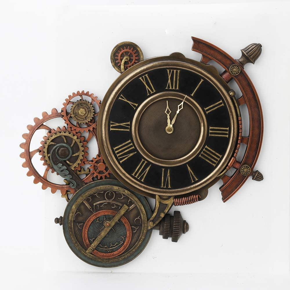 Astrolabe Star Tracker Wall Clock