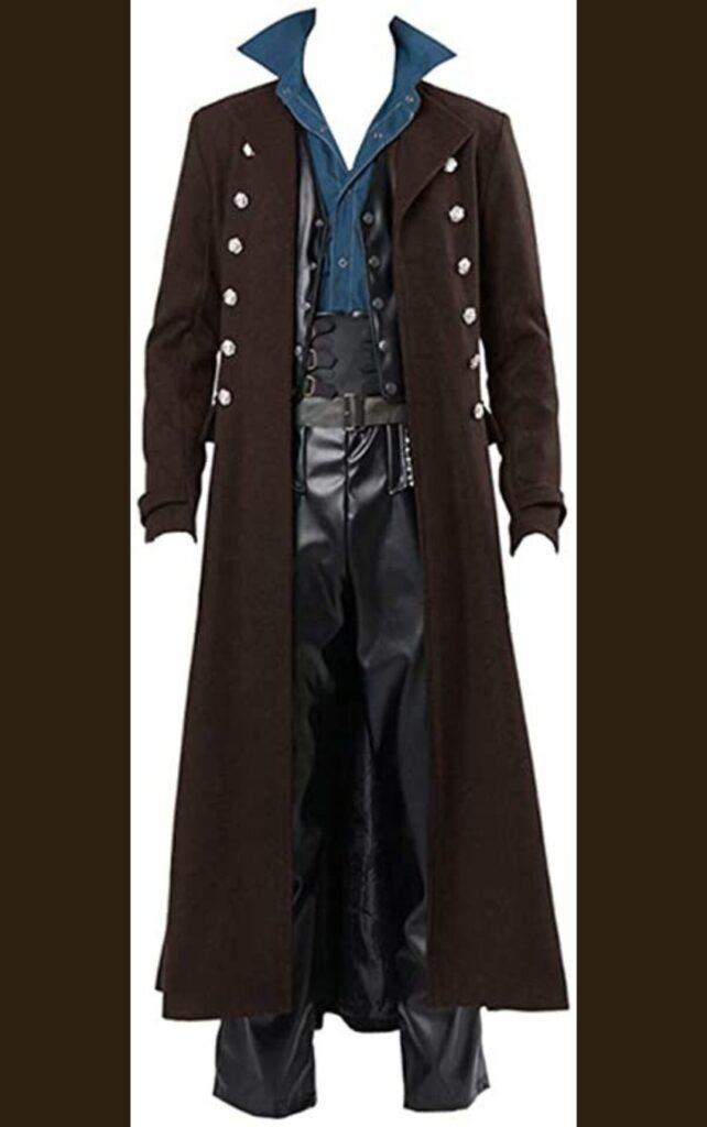 Men's Steampunk Victorian frock coat
