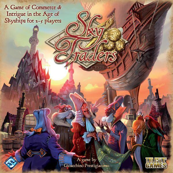 Sky traders board game