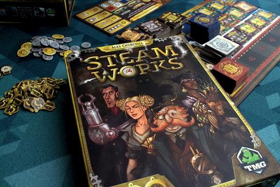 Steam works board game