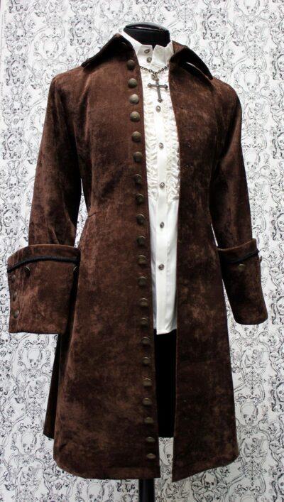 Steampunk Galleon Pirate Coat