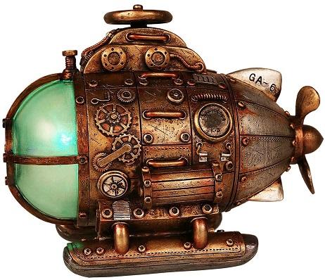 Steampunk Nautilus Explorer Submarine Collectible