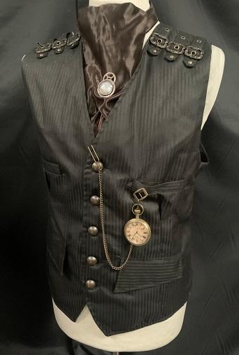 Steampunk ensemble waistcoat