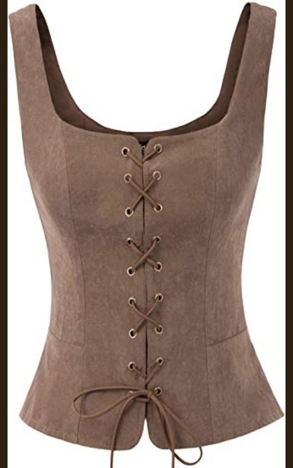Steampunk pirate renaissance vest