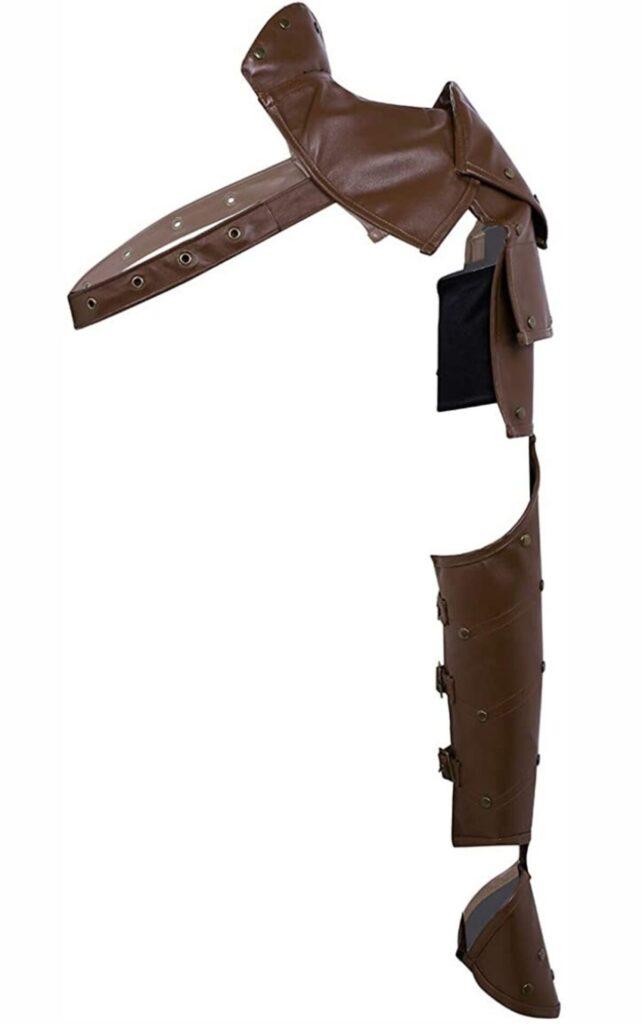 Steampunk shoulder armor