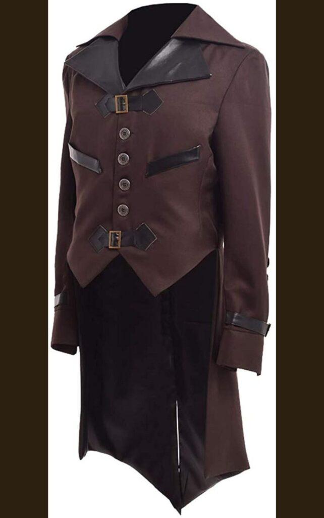 Victorian steampunk tailcoat