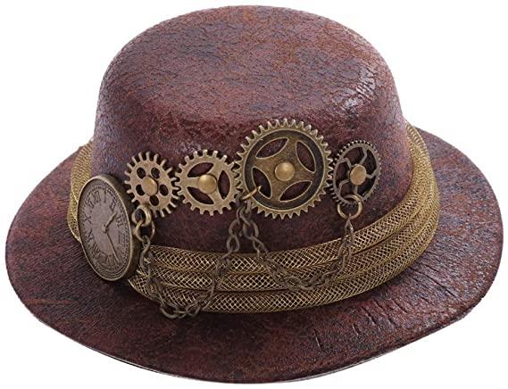 Victorian style mini top hat
