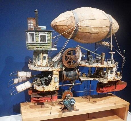 Ken Draims - The flying machine