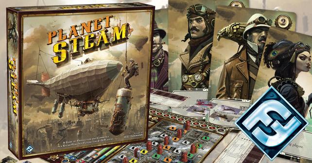 Planet steam steampunk board game