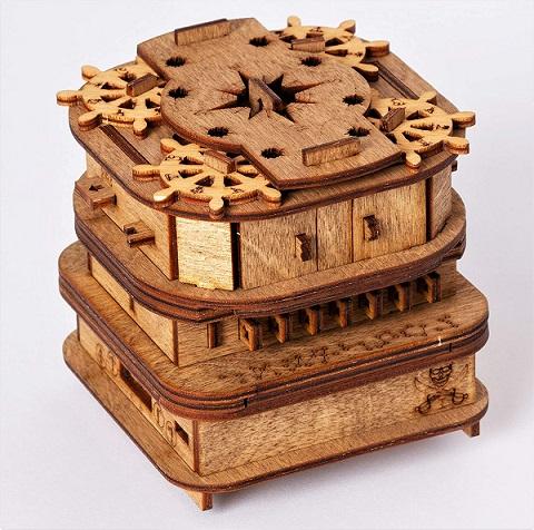 Davy Jones Locker steampunk puzzle box