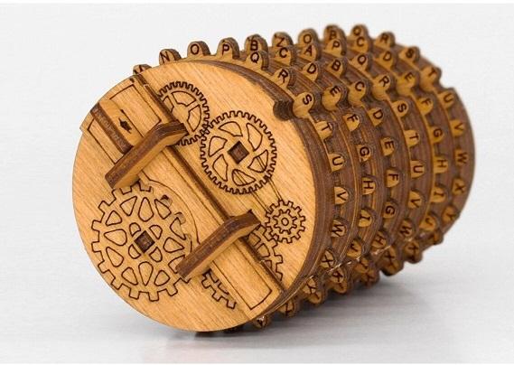 Kryptos portable puzzle vault