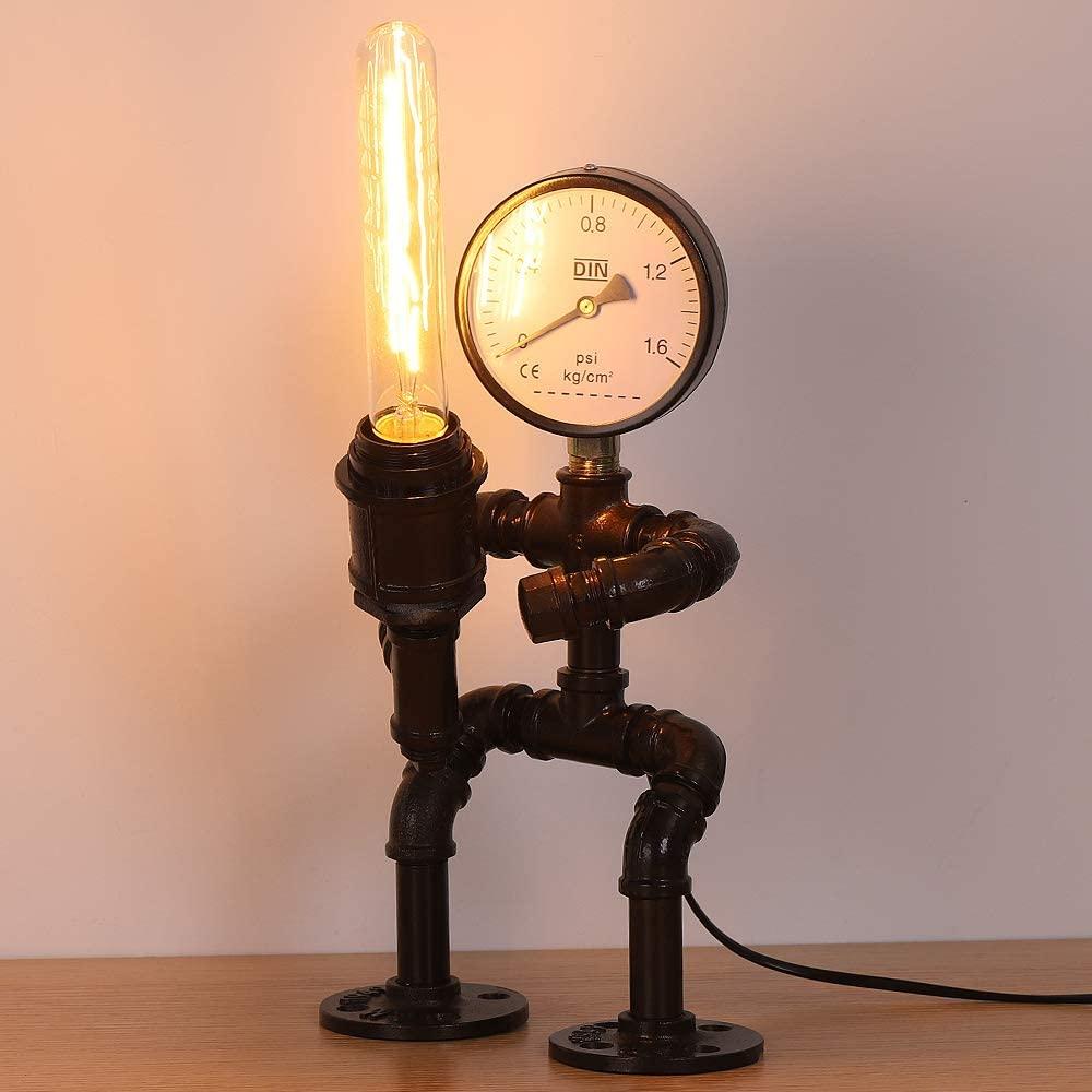 Robot warrior lamp