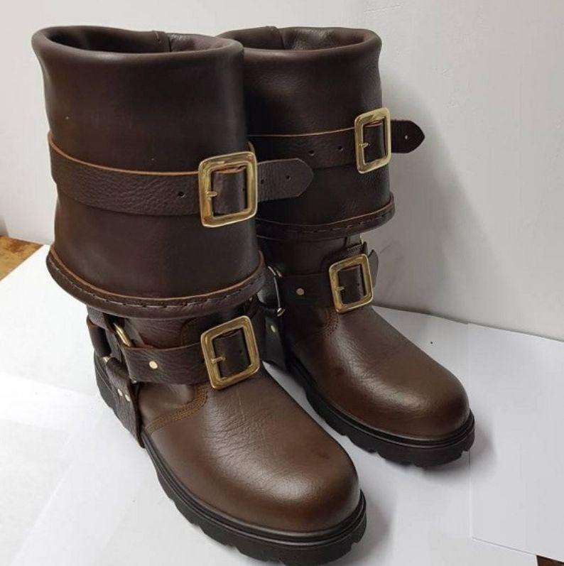 Steampunk Knight Boots