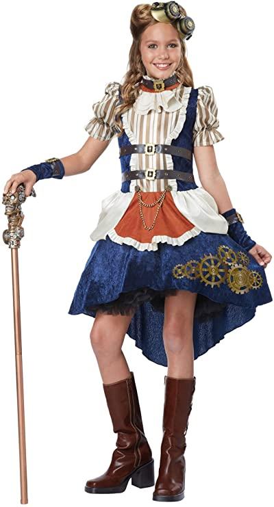 Steampunk costume girls
