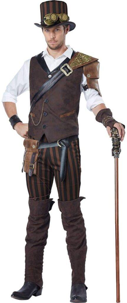Steampunk costume men