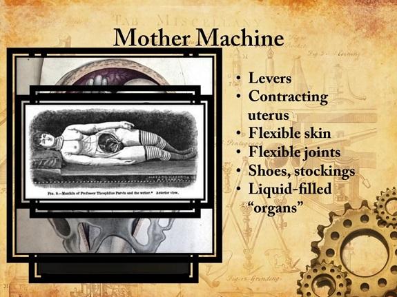 Steampunk mother machine