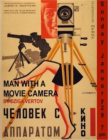 Man With A Movie Camera dieselpunk precursor