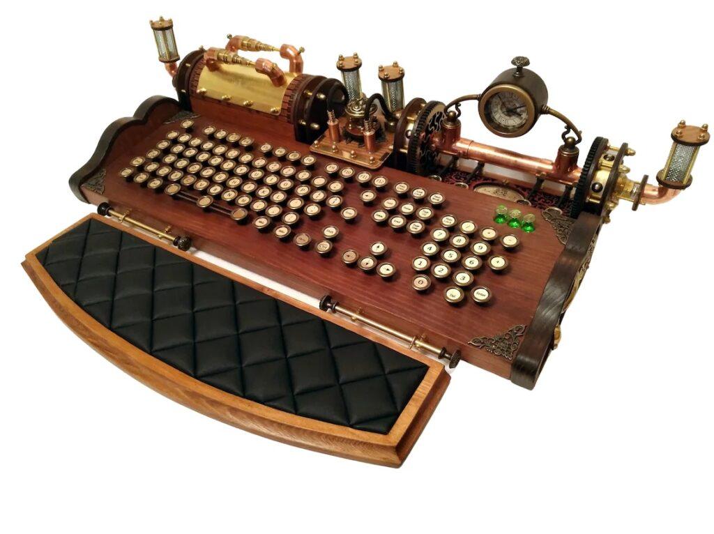Neo Victorian keyboard
