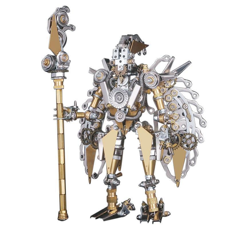 Steampunk Robots Ancient Mechanical Warriors