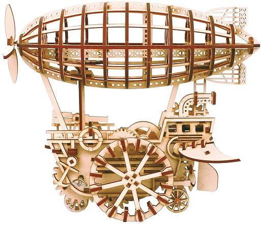 Steampunk diy airship