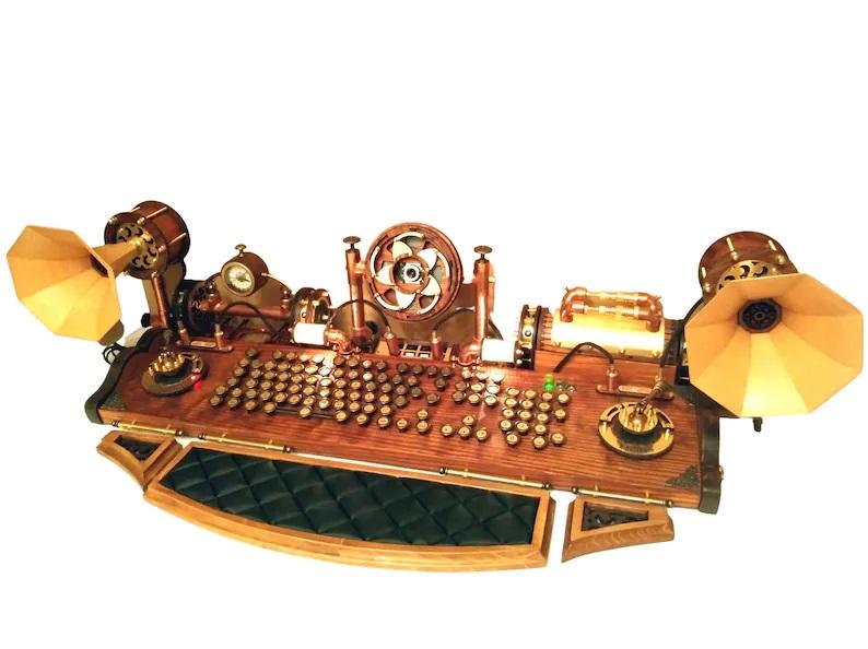 Steampunk keyboard set