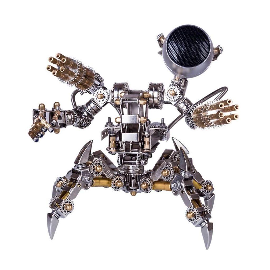 Steampunk robots magnetic hunter model